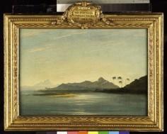 Vue de l'île de Taha'a et Bora Bora (1773)