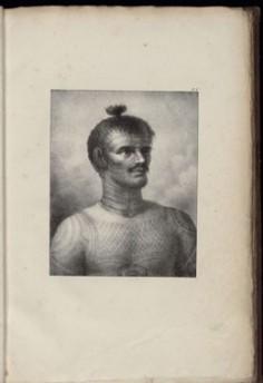 Sauvage de Noukahiva – Atlas de Krusenstern (1821)