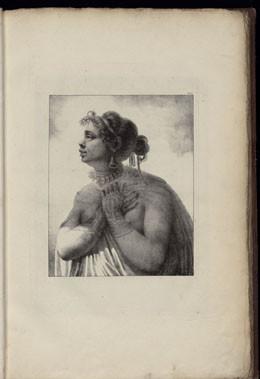 Femme de Nukuhiva – Atlas de Krusenstern (1821)