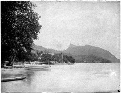 Huahine, maison de la reine (1892)