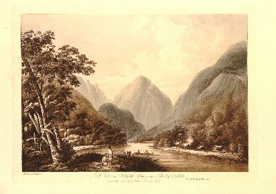 A View in Oheitepeha Bay, in the Island of Otaheite (1791)