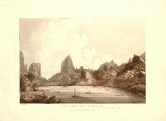 View of the Harbour of Taloo, in the Island of Eimeo (1789)