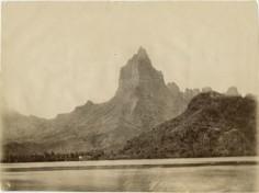 Baie d'Opunohu à Moorea (1930)