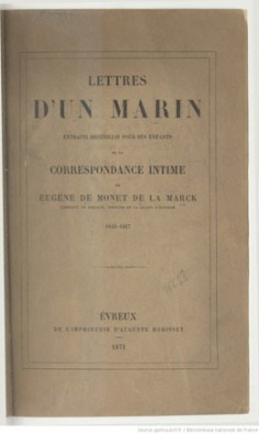 Lettres d'un marin (1871)