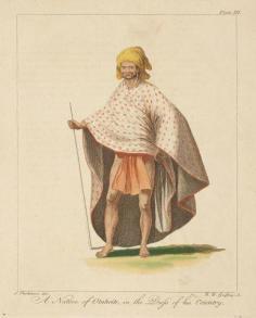 Natif de Tahiti en costume de son pays (1784)