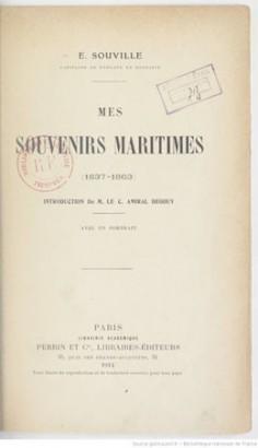 Mes souvenirs maritimes : (1837-1863)
