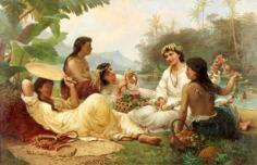 Sunny clime, Tahiti (1883)