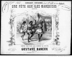 Une fête aux îles Marquises (1844)