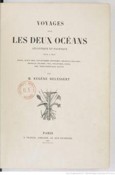 Voyages dans les deux océans Atlantique et Pacifique (1848)