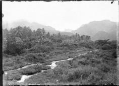 Diadème depuis la vallée de la Fautaua (1892)