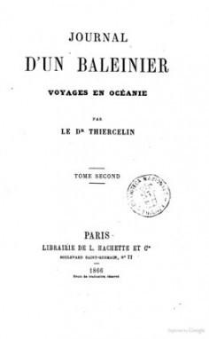Journal d'un baleinier voyages en Océanie – Tome second (1866)