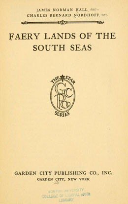 Faery lands of the south seas (1921)