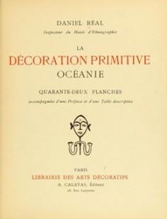 La décoration primitive – Océanie (1922)