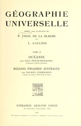 Océanie (1930)