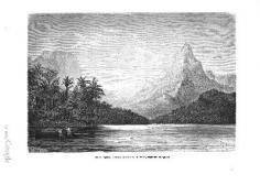 Baie de Papetoai – île de Moorea (1876)
