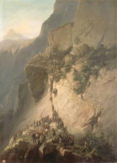 Prise du fort de Fautahua à Tahiti le 17 décembre 1846 – Charles Giraud (1857)