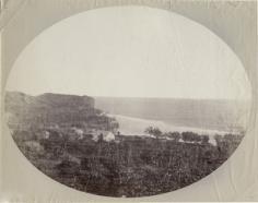 Village royal de Moerai sur l'île de Rurutu, archipel des Australes (1889)