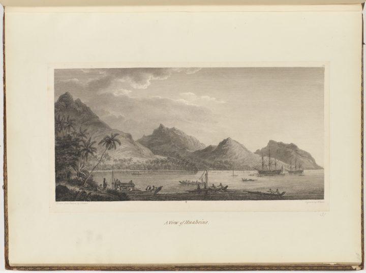 Vue de Huahine (1784)