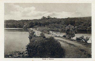 Route de Taravao (1900)