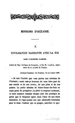 Missions d'Amérique, d'Océanie et d'Afrique (1846)
