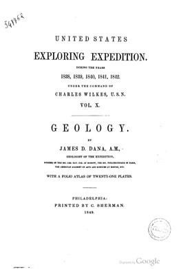 Narrative of the United States Exploring Expedition during year 1838-1842 – Volume X (1849)