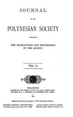 The journal of the Polynesian Society – Vol. II (1893)