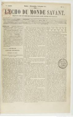 Archipel de Mangareva – Partie III (1844)