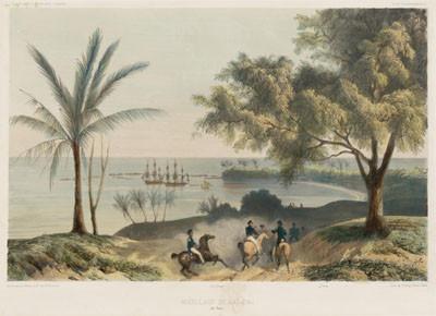 Mouillage de Matavai (1846)