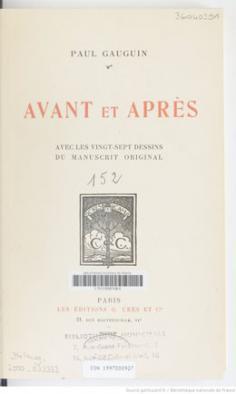 Avant et après (1923)