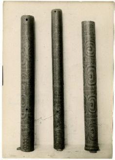 Flûtes en bambou des îles Marquises (1930)