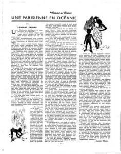 Une parisienne en Océanie III – L'enfant cadeau (1936)