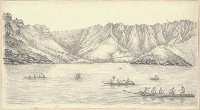 Resolution Bay aux Marquises (1822)