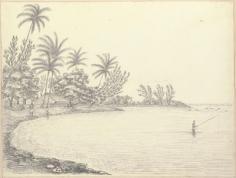 Maison de la reine à Papuoa (1822)