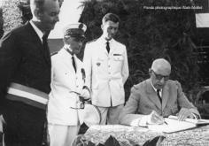 Gaston Flosse et le Général de Gaulle (1966)