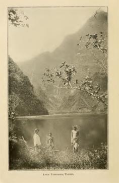 Lac Vaihiria, Tahiti (1916)