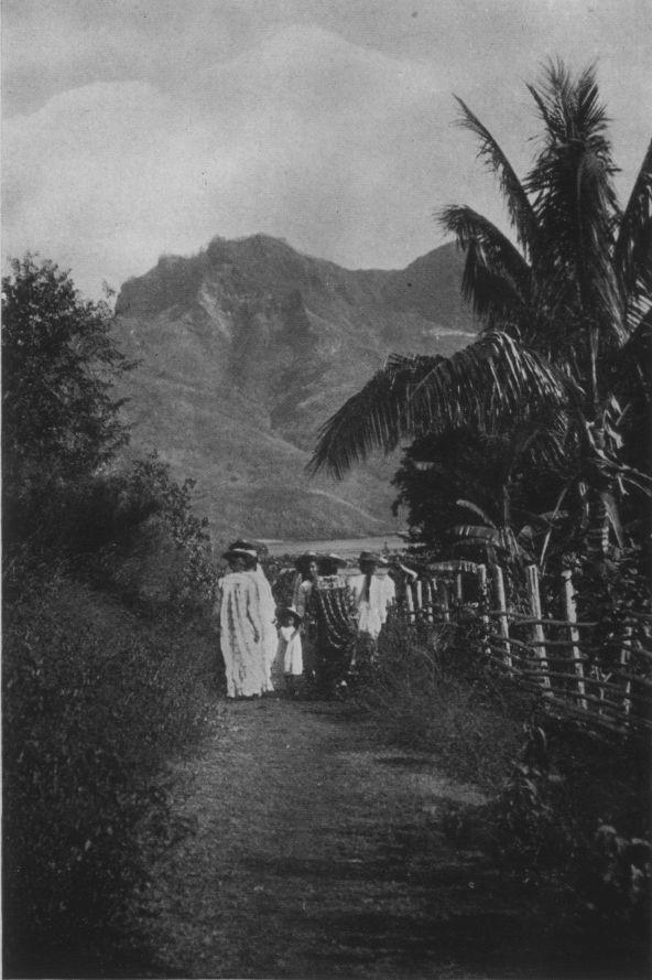 Un chemin à Nuku Hiva (1919)