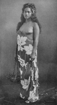Antoinette, danseuse marquisienne (1919)