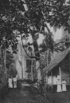 Eglise catholique à Atuona (1919)
