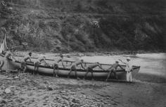 Mise à l'eau d'une baleinière (1919)