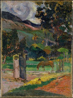Paysage tahitien (1892)