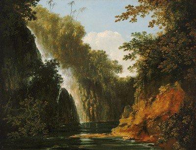Cascade à Tahiti (1772)