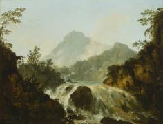 Cascade dans la vallée de la Tuauru (1773)