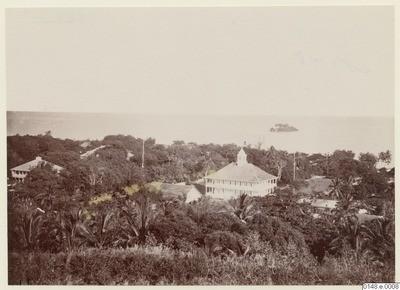 Papeete et le palais de la reine (1886)