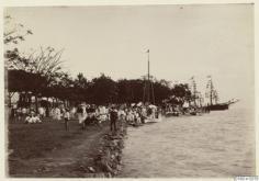 Quai du port de Papeete (1886)
