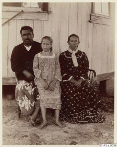 Couple avec petite fille (1886)