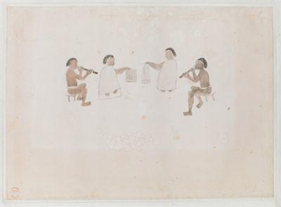 Musiciens de Tahiti (1770)
