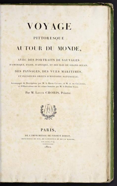 Voyage pittoresque autour du monde, avec des portraits de sauvages d'Amérique, d'Asie, d'Afrique et des îles du grand océan (1822)