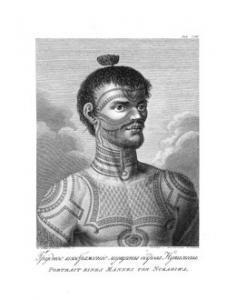Portrait d'un homme de Nuku Hiva (1814)