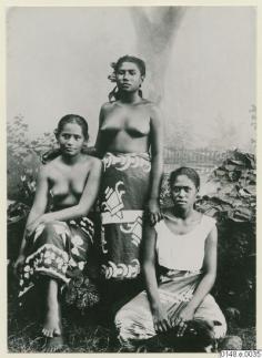 Portrait de trois Marquisiennes (1886)