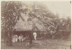 Une case marquisienne (1886)